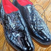 Shiny Shoes.
